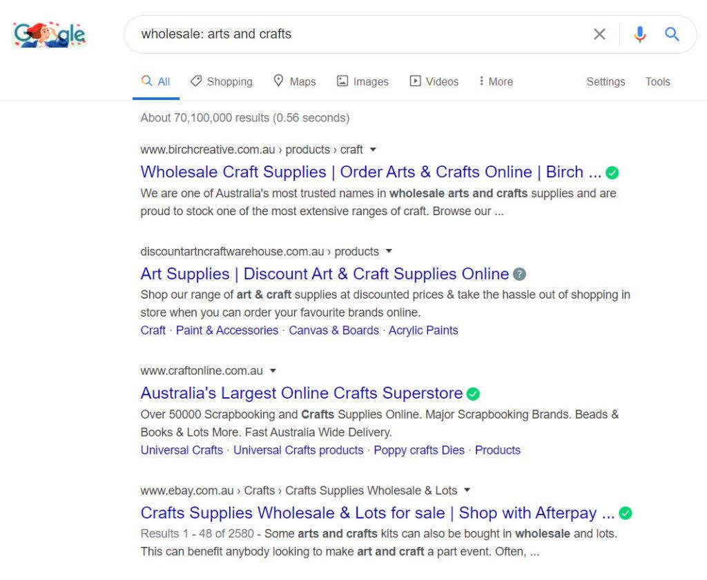 Sell Arts and Crafts Online - Arts and crafts wholesale