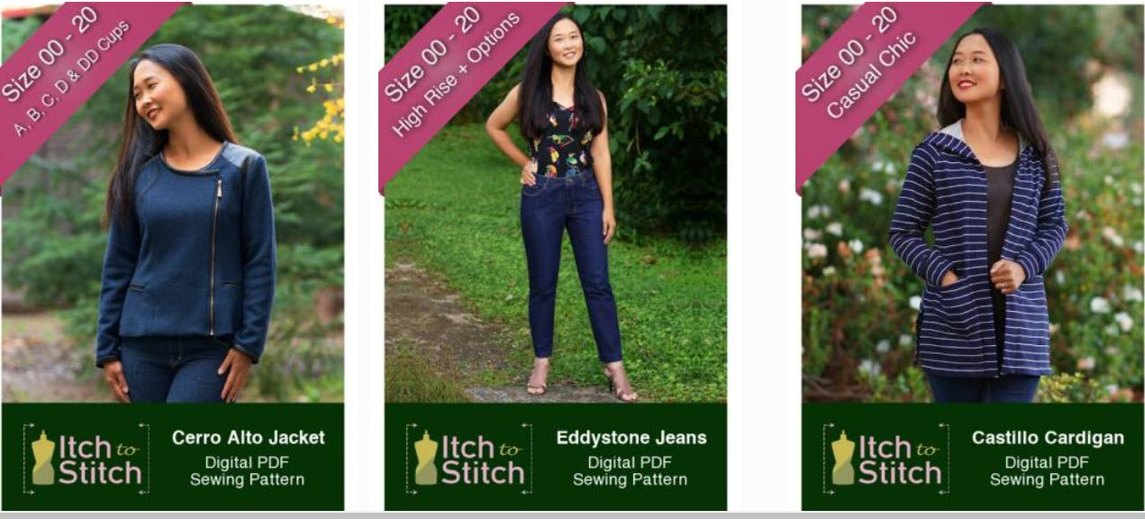 sewing affiliate programs - Itch to Stitch stripe