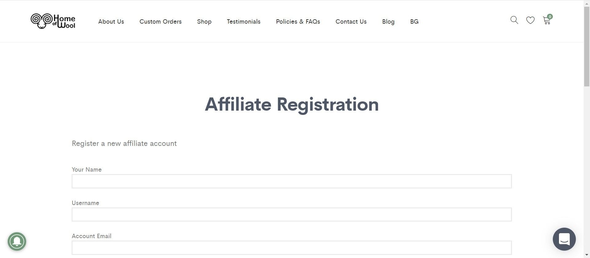 Knitting Affiliate Programs - Home of Wool Affiliate