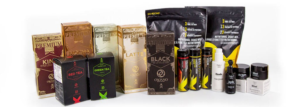 Organo MLM Review - products