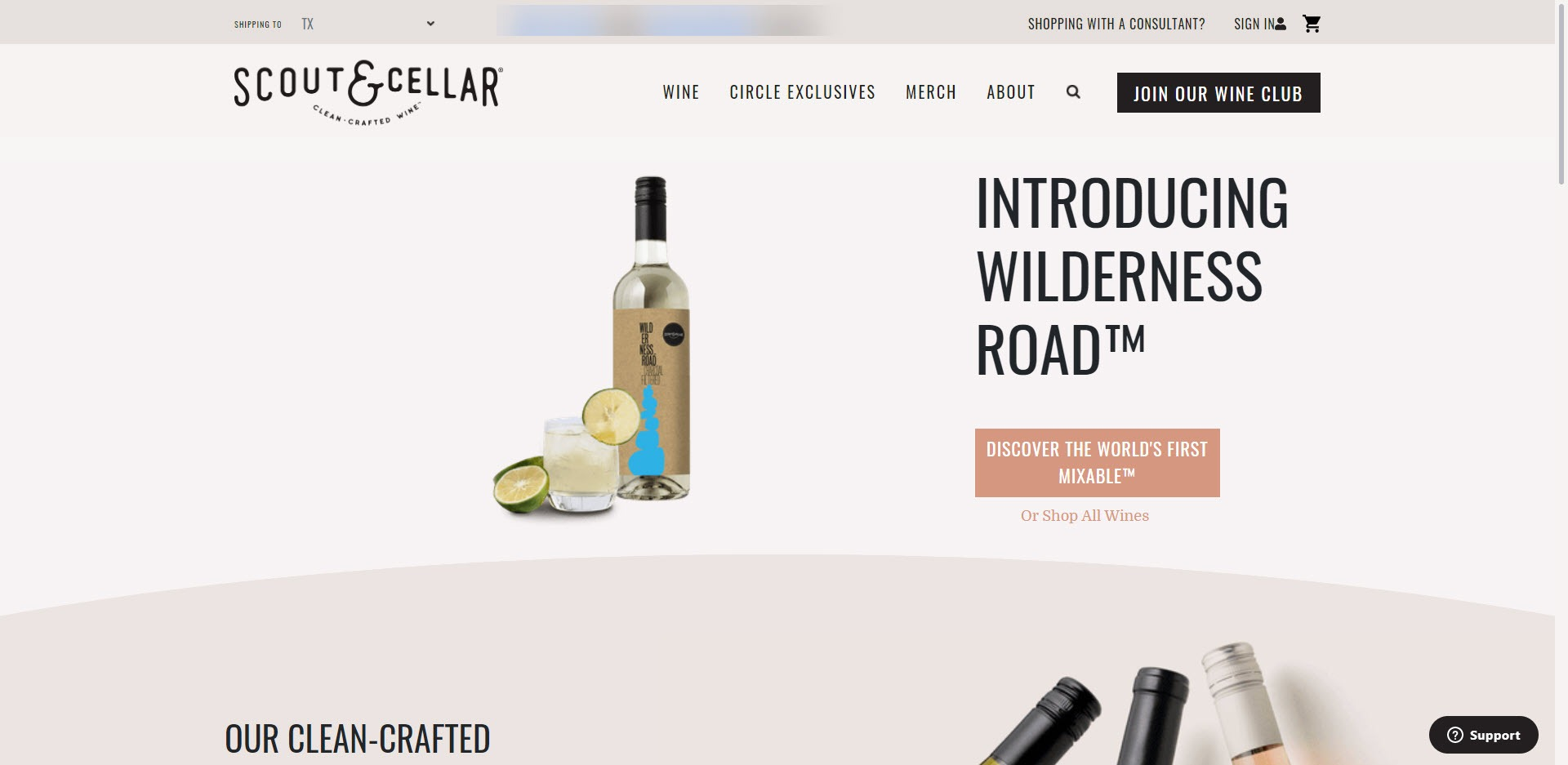 Scout & Cellar MLM Review - Home