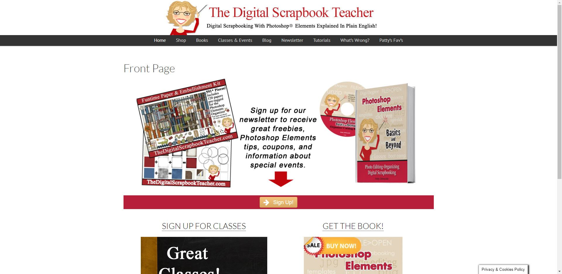 Scrapbooking Affiliate Programs - Digital Scrapbook teacher