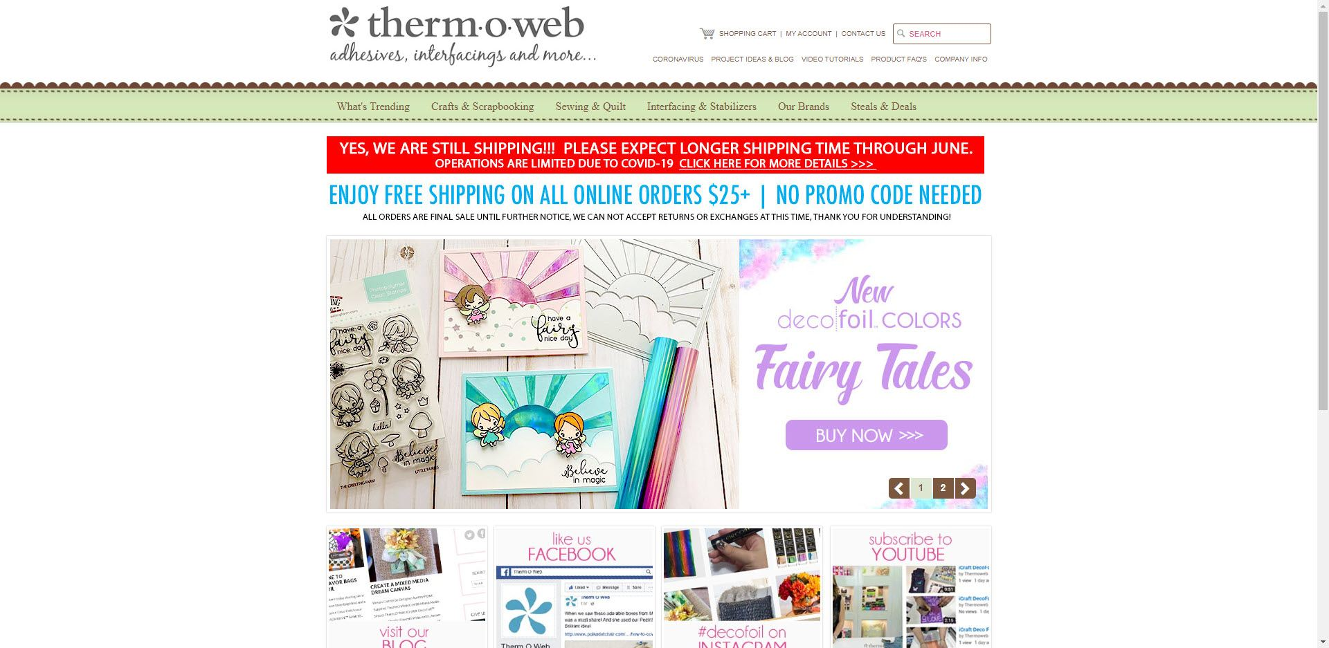 Scrapbooking Affiliate Programs - thermoweb