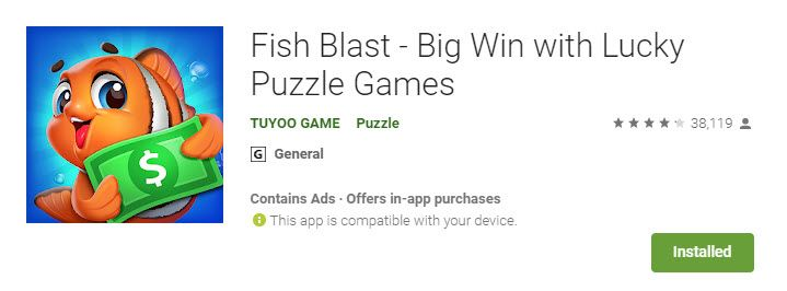 can you make money with fish blast - stripe 1