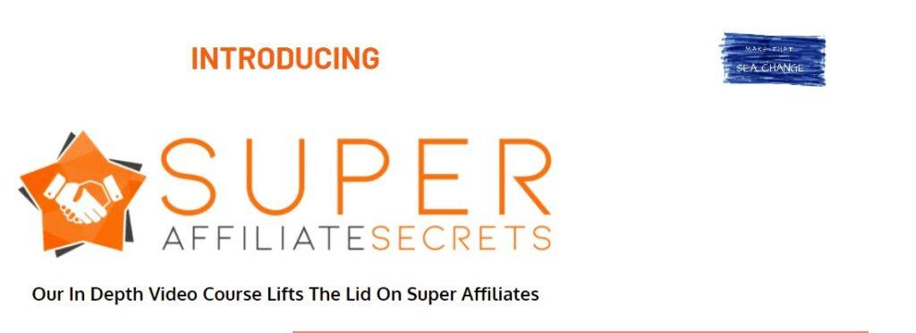 Super Affiliate Secrets - header