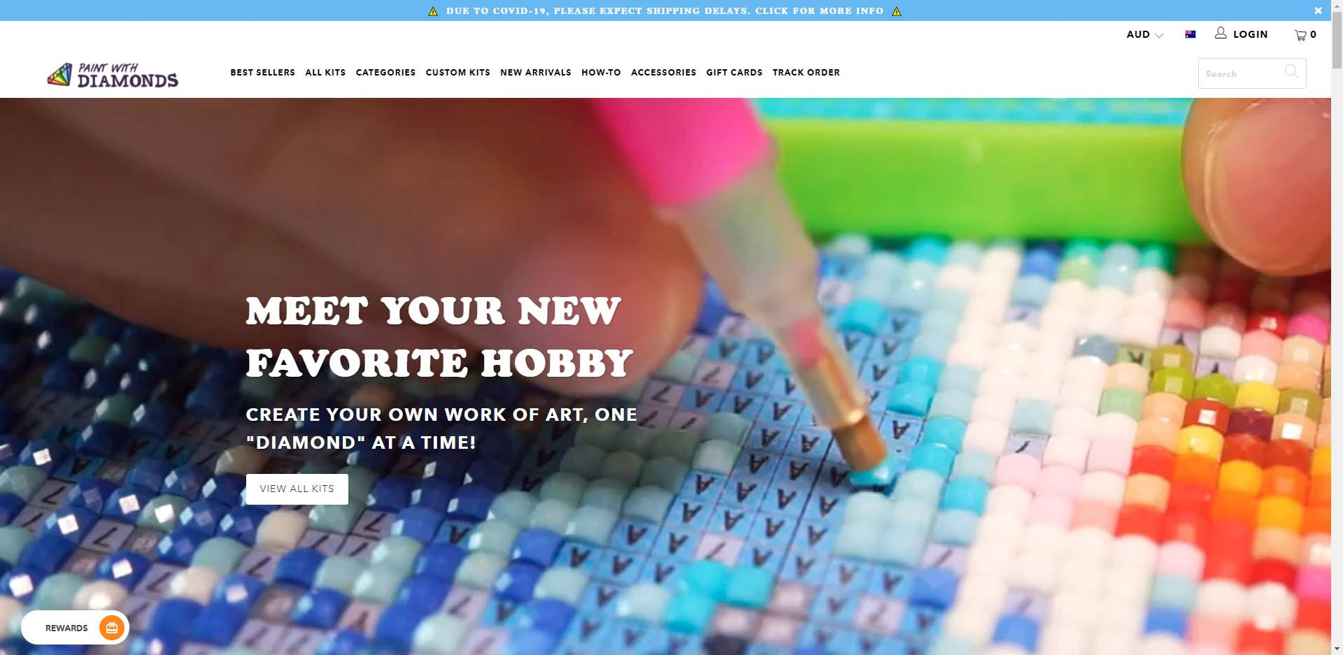 affiliate programs for painters - Paint With Diamonds