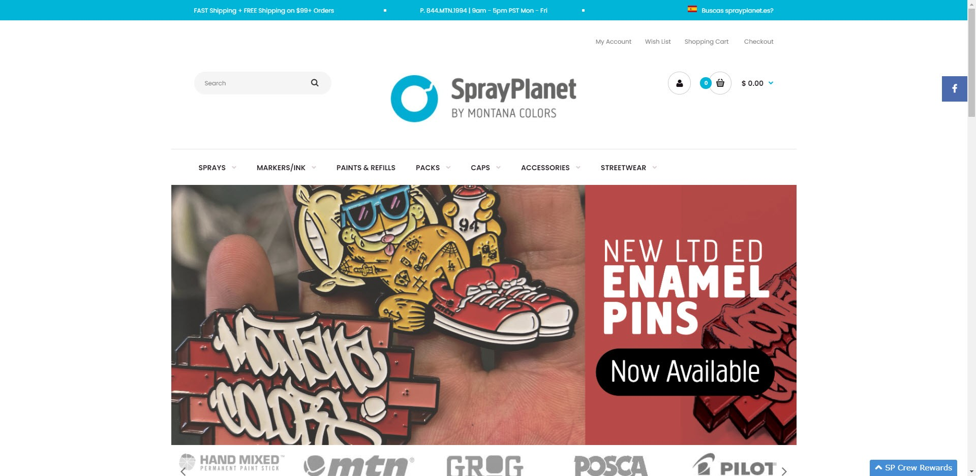 affiliate programs for painters - Spray planet