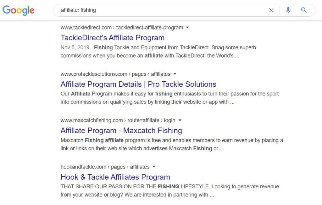 monetize fishing blog - Affiliates