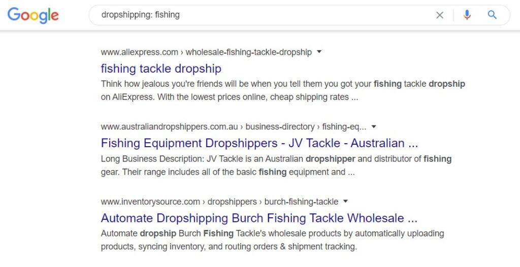 monetize fishing blog - Dropship