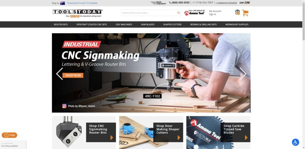 woodworking affiliate programs - Tools Today