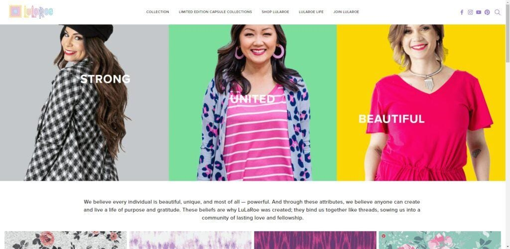 Lularoe MLM Review - Home