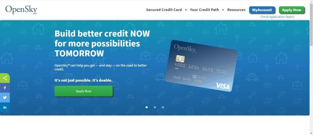 Credit Card affiliate programs - OpenSky