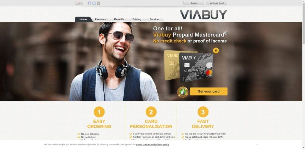 Credit Card affiliate programs - Viabuy