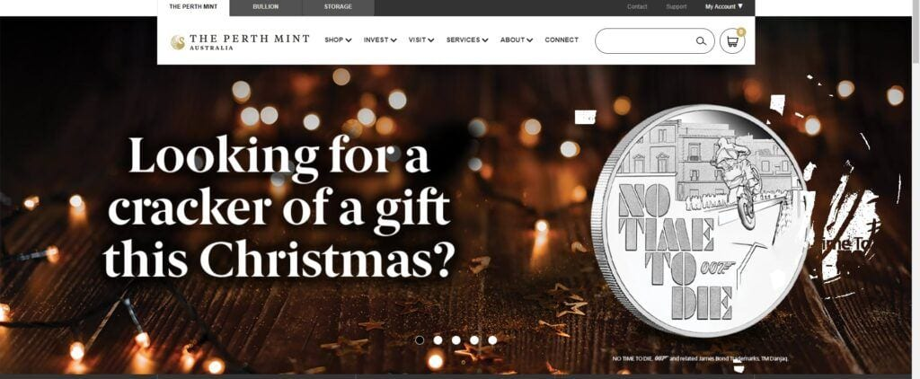 coin collection affiliate programs - perth mint