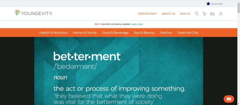Youngenvity MLM Review - Opportunity