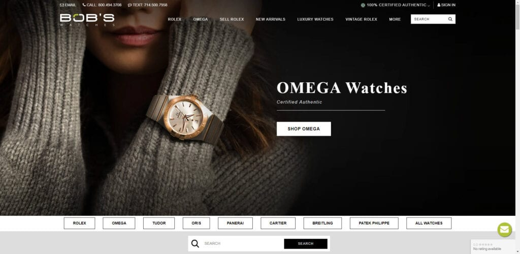 Watch affiliate programs - bobs watches