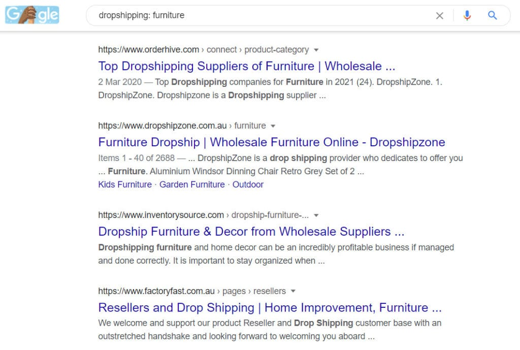 How To Sell Furniture Online - dropship Furniture