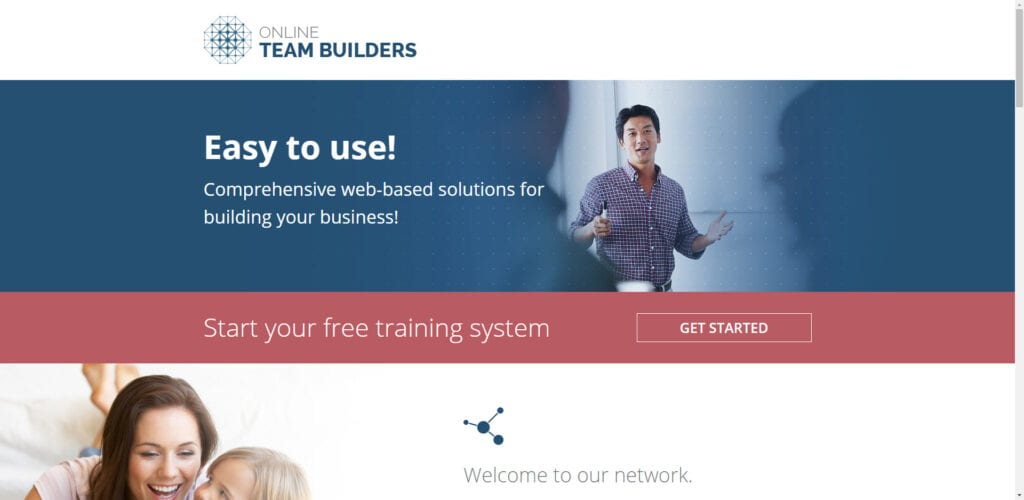 Online Team Builders Review - Home