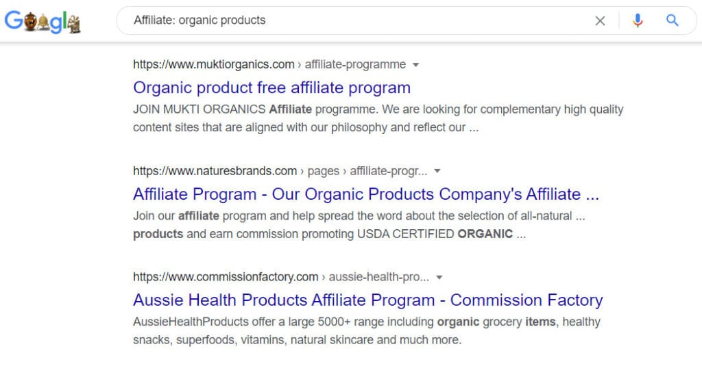 How to sell organic products online - affiliate programs