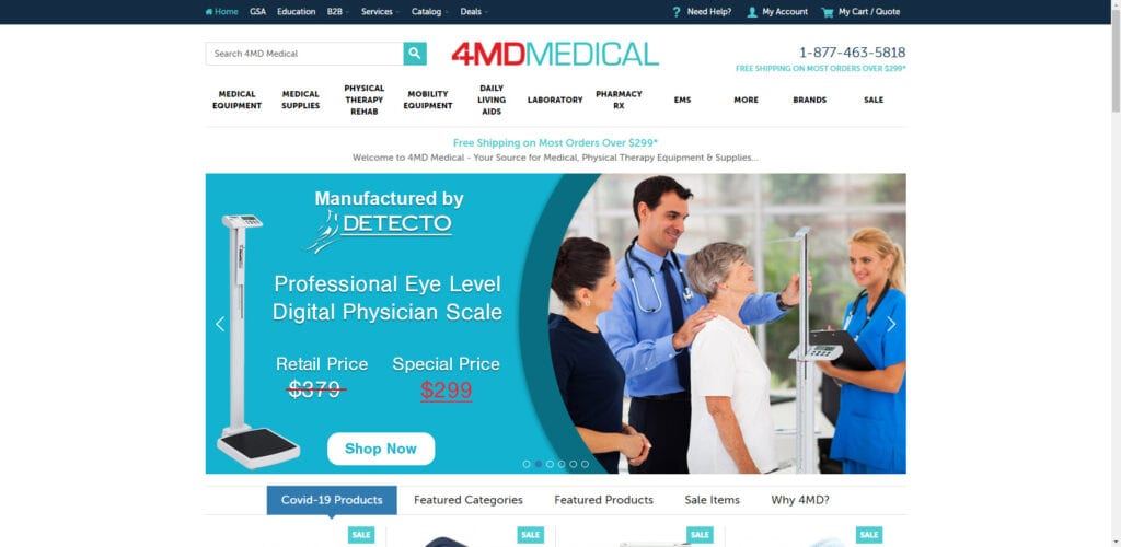 medical supplies affiliate programs - 4MD Home