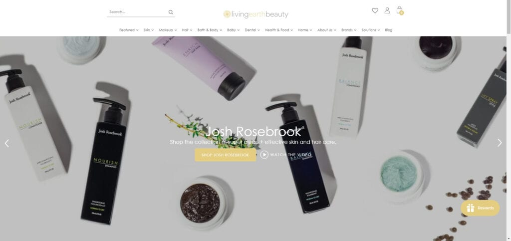organic products affiliate - Living Earth Beauty