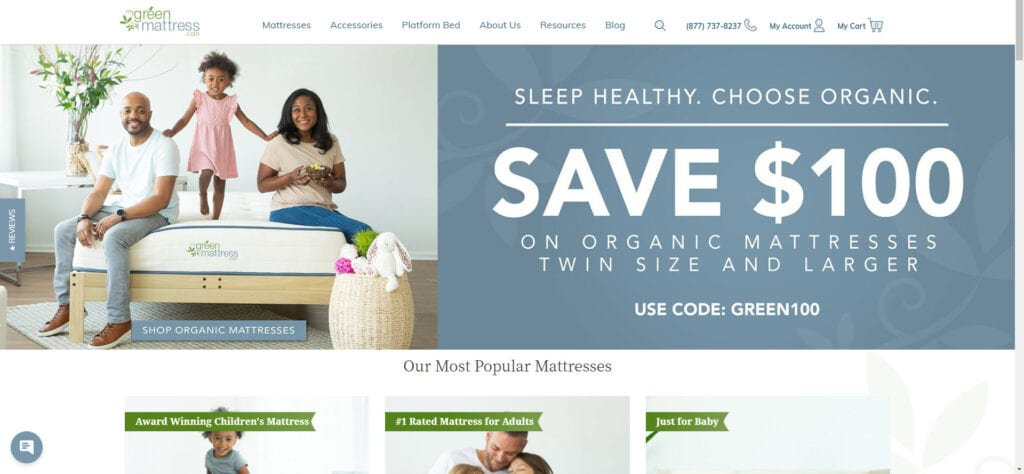 organic products affiliate - My Green Mattress Home