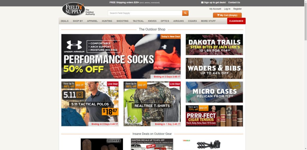 Hunting Affiliate programs - Field Supply