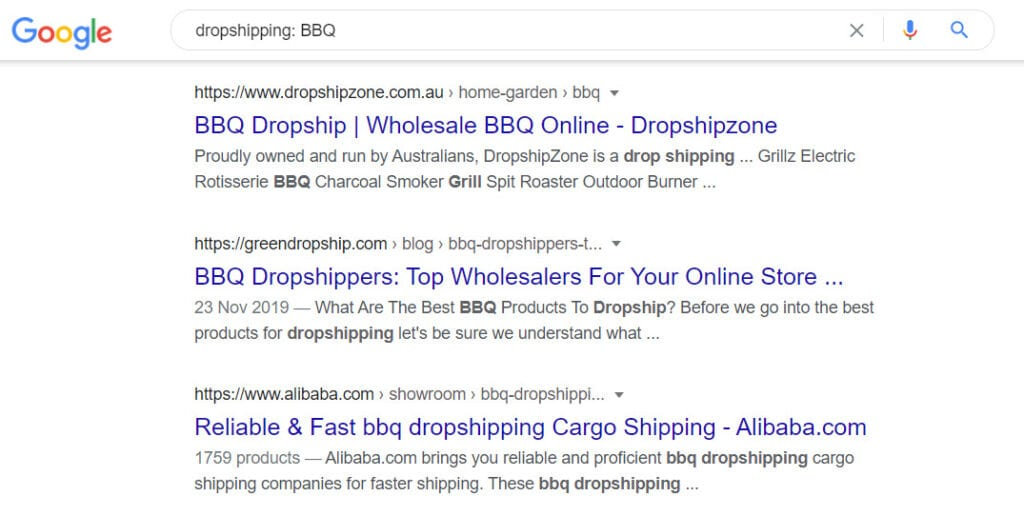 Monetize a Bbq Website - dropship