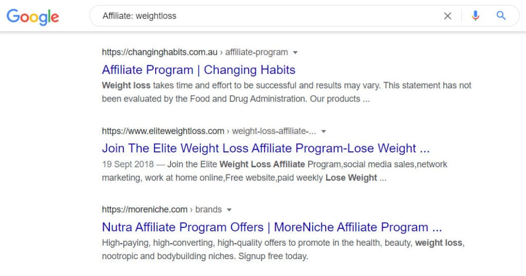 Sell weight loss online - affiliate