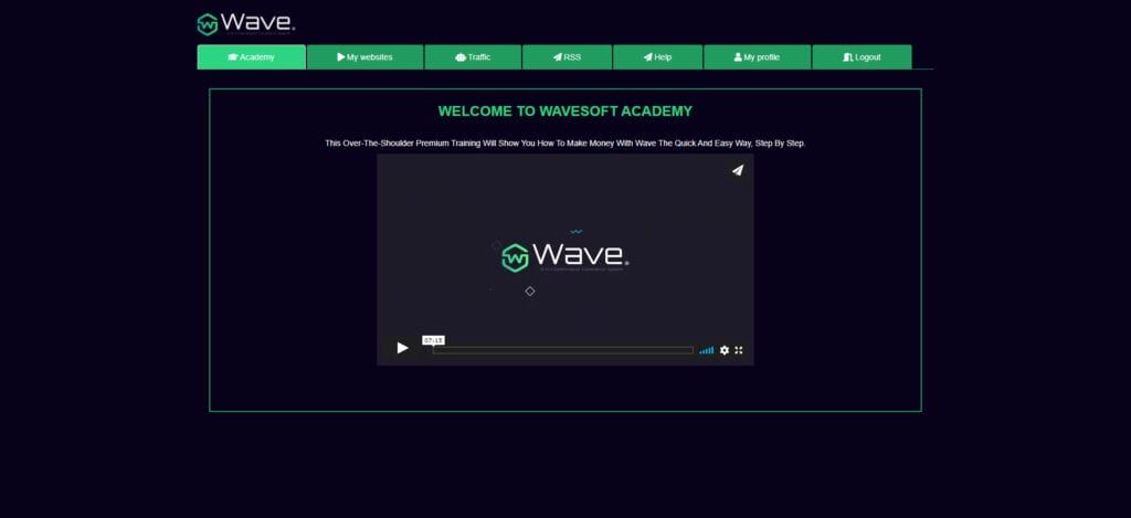 Wave review - Home