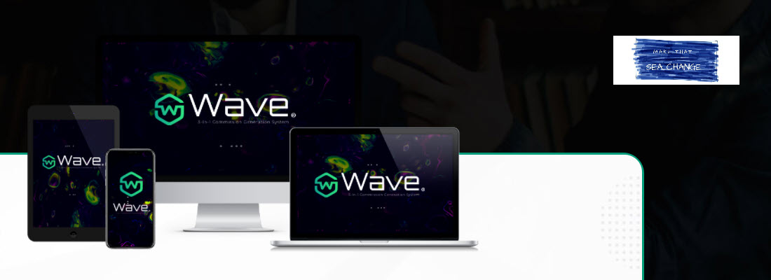 wave review - header