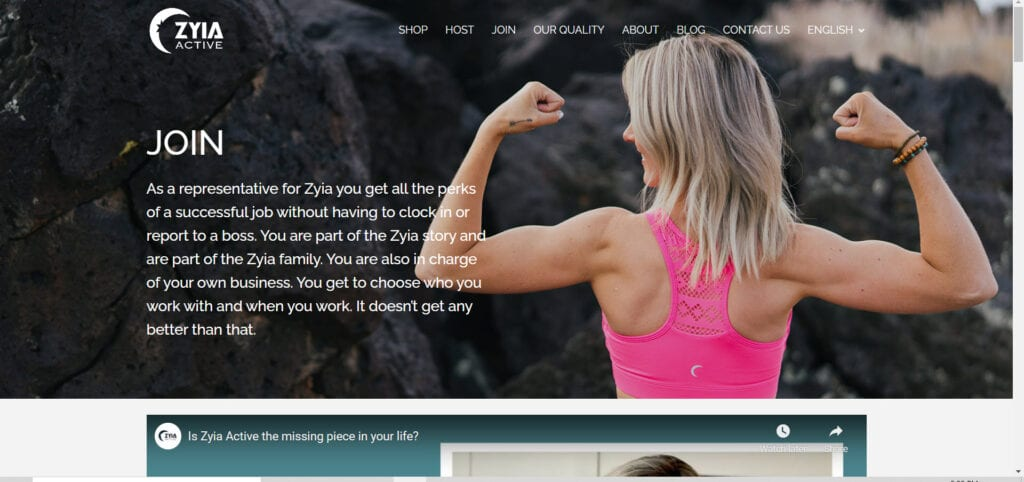 ZYIA Active MLM Review - Opportunity