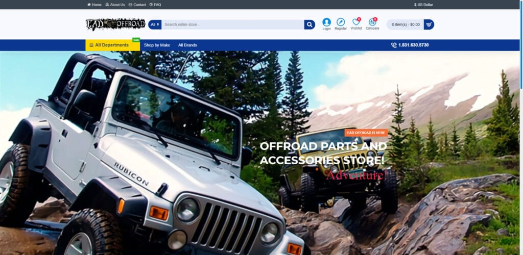 4x4 affiliate programs - EAD Offroad home