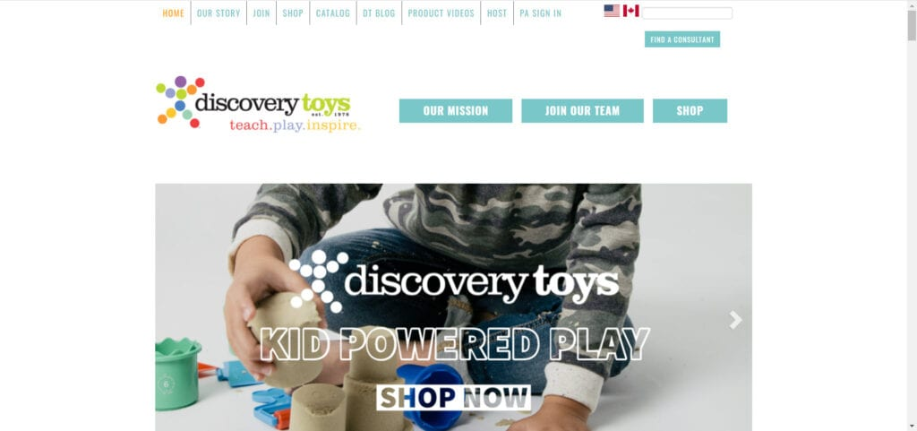 Discovery Toys MLM Review - Home