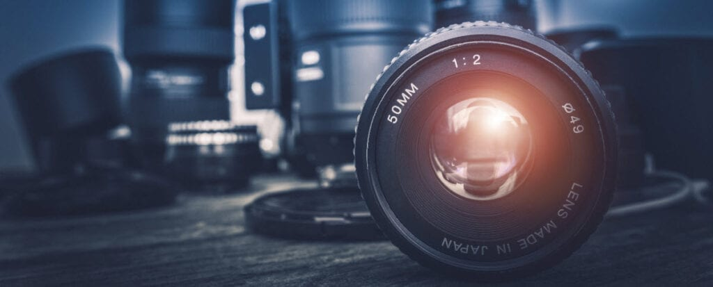 How To Monetize a Photography Blog - lenses