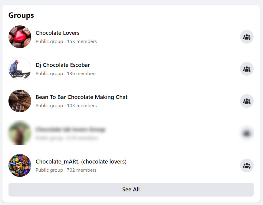 How to sell chocolate online - fb groups