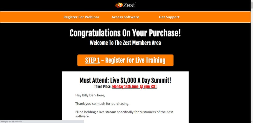 Zest Review - Home