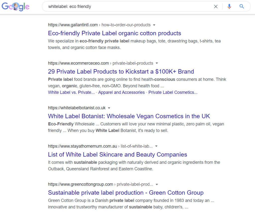sell eco friendly products online - whitelabel programs