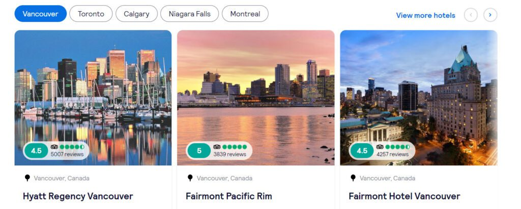 Canadian Affiliate Programs - Skyscanner locations