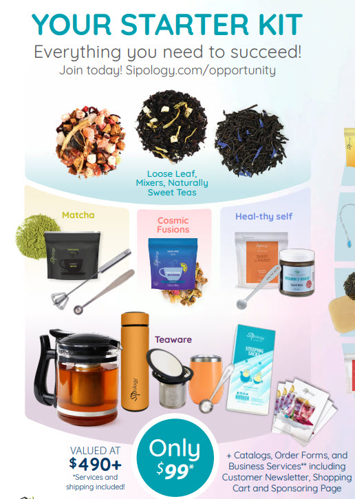 Sipology MLM Review - Starter Kit