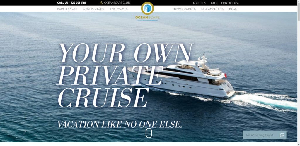 High ticket affiliate programs - Oceanscape Yachts