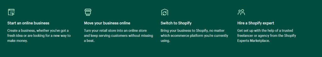 High ticket affiliate programs - Shopify business model