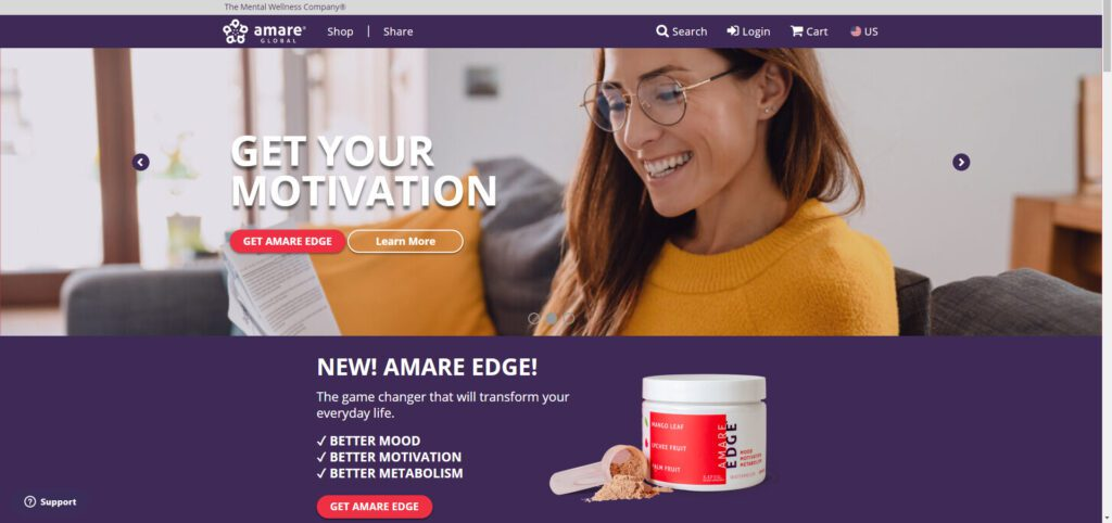 Amare Global MLM Review - Get your mood