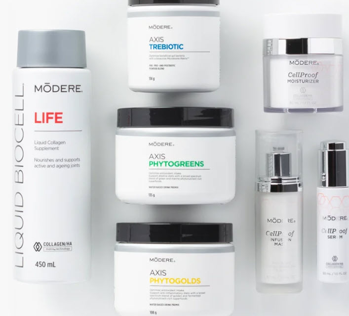 Modere MLM Review - Products